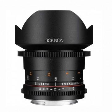 Rokinon DS 14mm T3.1 Cine Lente para Canon EF