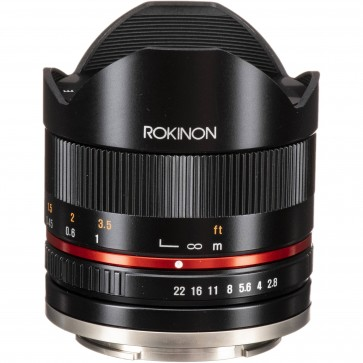 Lente Rokinon 8mm f / 2.8 UMC Ojo de Pez  II para Sony E