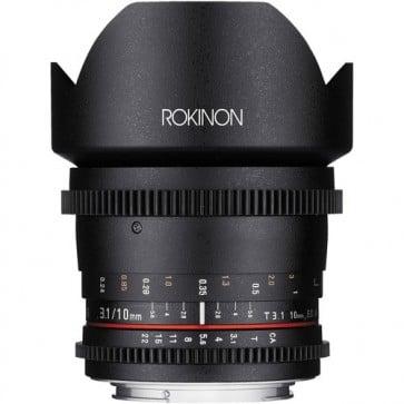 Lente Rokinon T3.1 Cine DS de 10 mm con Montura Sony E para APS-C