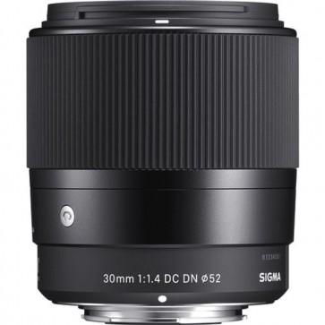 Lente Sigma 30mm f/1.4 DC DN Contemporary para Sony E