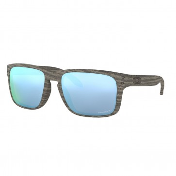 Lentes de Sol Oakley Holbrook™ Woodgrain Collection Prizm Deep Water Polarized