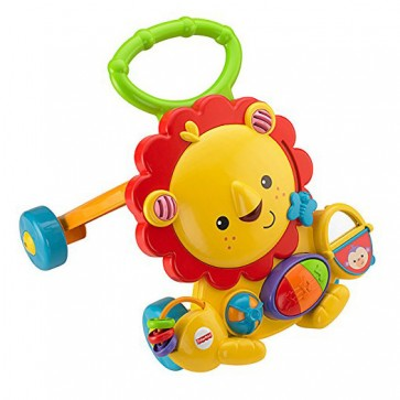 Correpasillos Fisher Price Leon Andador Musical