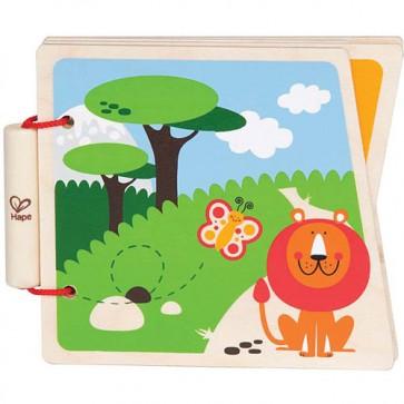 Libro de madera Animales - Hape