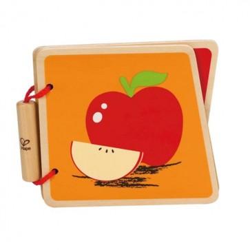 Libro de Madera Frutas- Hape