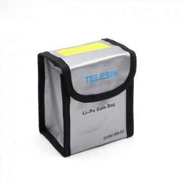Lipo Safe Bag para DJI Mavic Pro Resistente al fuego Telesin