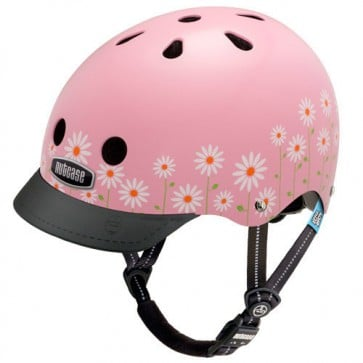 Casco Niña Daisy Pink - Little Nutty