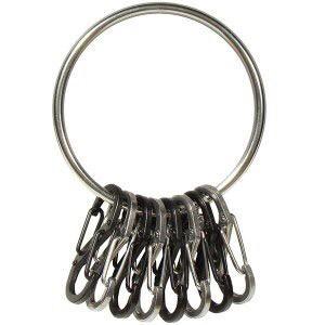 Llavero Big Ring  con S-biners de acero  - Nite Ize