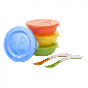 Set de 4 Platos Love-a-Bowls Munchkin 1