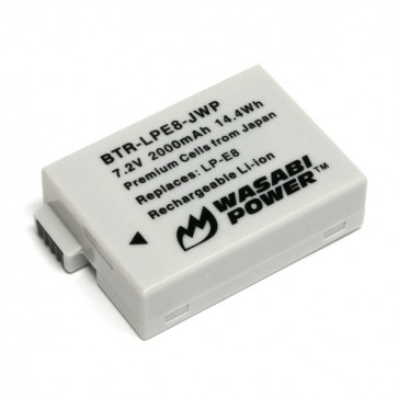 Bateria LP-E8 para Canon Wasabi
