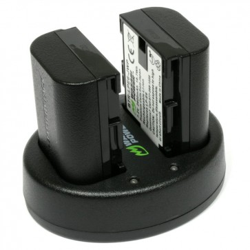 Kit de 2 Baterias para Canon LP-E6 Wasabi