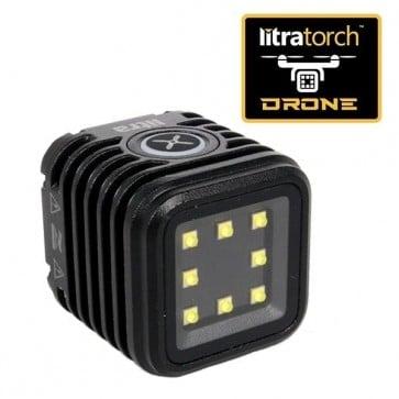 Litra Torch Drone Edition Luz para Drones, Gopro, Camaras DSLR con 800 Lumenes y CRI 90+