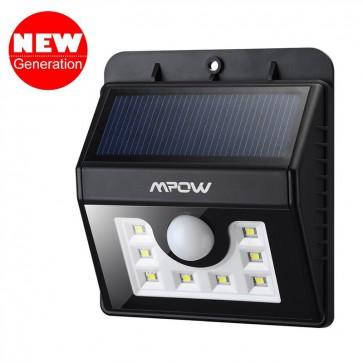 Luz LED solar con sensor de movimiento - Mpow