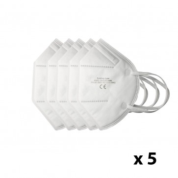 Pack de 5 Mascarillas KN95