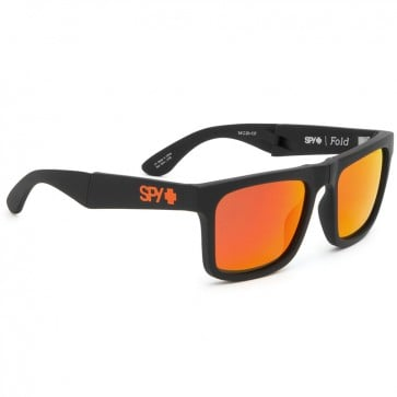 Lentes de sol Spy The Fold Matte Black Bronze W Red Spectra