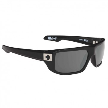 Lentes de Sol Spy Mccoy Soft Matte Black Happy Gray Green Polar