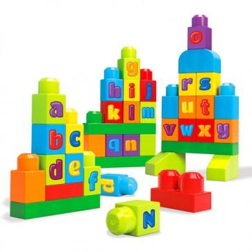 Juego de blques Mega Bloks ABC 40 pcs - Fisher Price 1