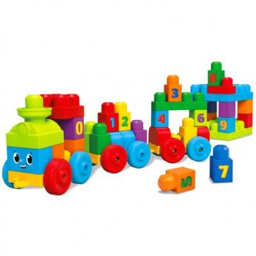 Juego de bloques Mega bloks Tren de aprendizaje - Fisher Price 2