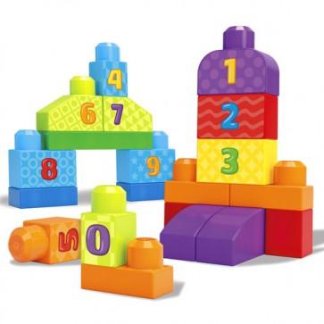 Juego de bloques para bebé Mega Bloks 123 20 pcs - Fisher Price 1