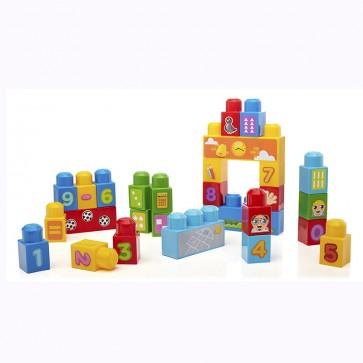 Juego de bloques Mega Bloks ABC 30 piezas - Fisher Price 1