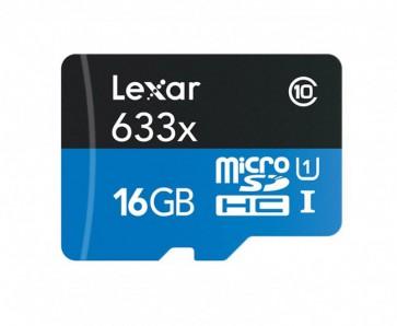 Memoria Micro SD Lexar HC 16 Gb con Pendrive 95 MB/s