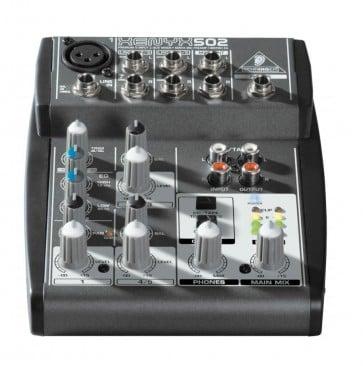 Mezclador 3 Canales Behringer 502