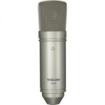 Micrófono Condensador de Estudio Tascam TM-80