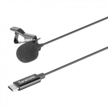 Micrófono Lavalier USB-C para Android Saramonic LavMicro U3A