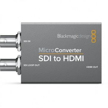 Micro Converter SDI a HDMI con Fuente de Alimentación BlackMagic