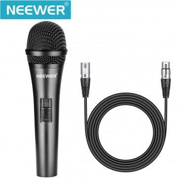 Microfono Dinamico de Cardioide con cable XLR Macho
