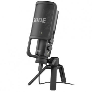 Microfono de Estudio Cardioide Rode NT USB