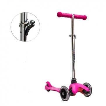 Mini Tri-Scooter Hook Rosa