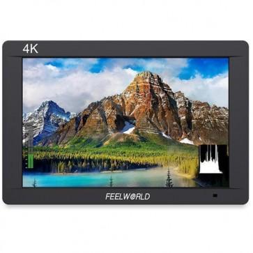 "Monitor de Video 7 ""IPS 3G-SDI 4K HDMI Feeworld"