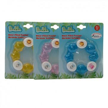 Mordedores para bebé enfriables multicolores 4