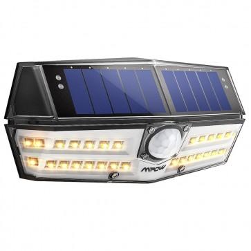 Foco Solar PIR de 30 LEDs Calidas Mpow - Nueva Generación de Focos Solares