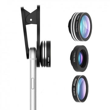 Set de lentes 3 en 1 para Celular Mpow  1