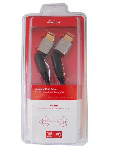 Cable HDMI 1.8 - 360 grados