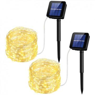 Pack de 2 Guirnaldas Solares Mpow 1
