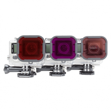 Pack de 3 filtros para buceo - Polar Pro