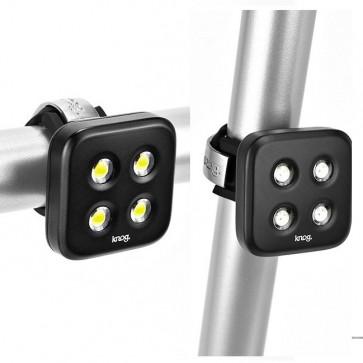 Set de Luces de Bicicleta LED USB Blinder 4 - Knog
