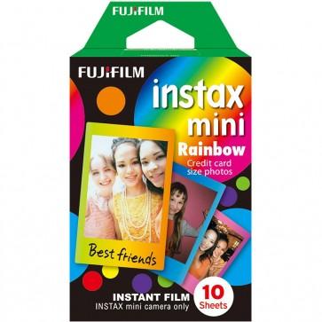 Papel para cámara Instax Mini con Diseño de Arcoiris - Fujifilm
