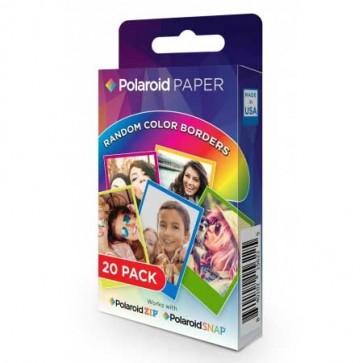 Papel Polaroid Zink Rainbow 2x3 20 Unidades