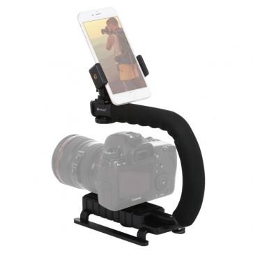 Estabilizador de Soporte con Microfono Puluz