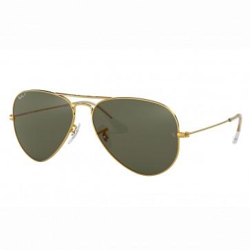 Lentes Ray Ban Aviador Clásico con lentes Clásico Verde G-15