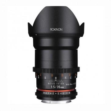 Rokinon DS 35mm T1.5 Cine Lente para Sony E