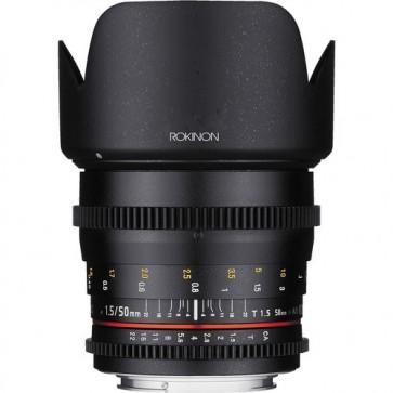 Rokinon DS 50mm T1.5 Cine Lente para Sony E