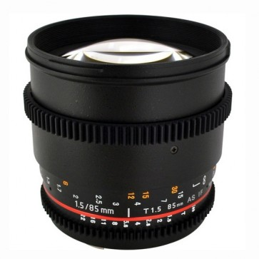 Rokinon 85mm T1.5 Cine Aspherical Lente para Canon EF Mount