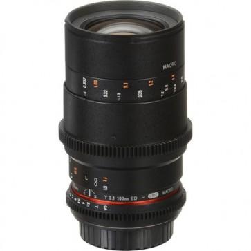 Rokinon Cine DS 100mm T3.1 Telephoto Macro Cine Lente para Canon EF