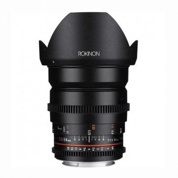 Rokinon DS 24mm T1.5 Cine Lente para Canon EF