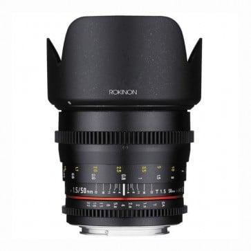 Rokinon DS 50mm T1.5 Cine Lente para Canon EF