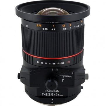 Lente Rokinon TS 24mm f / 3.5 ED AS UMC Tilt-Shift para Sony E